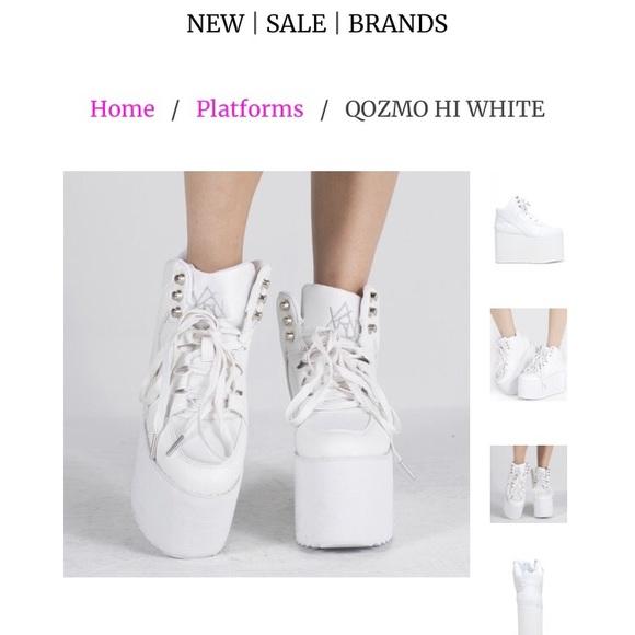 yru white platforms